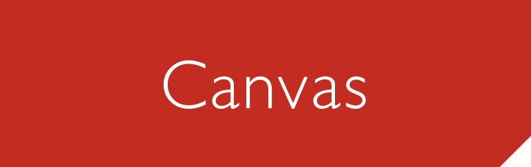 Canvas help pages
