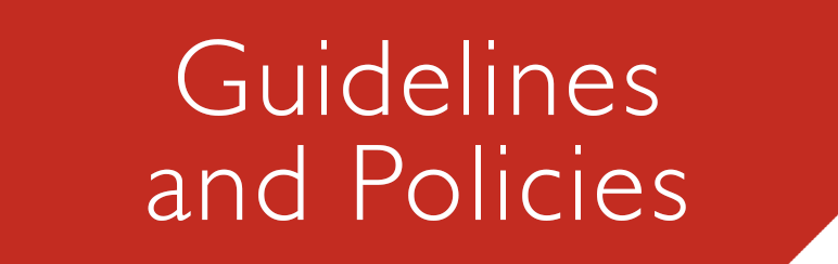 Guidelines and Policies