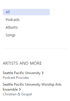 search results for Seattle Pacific University