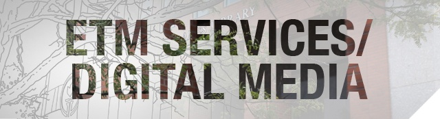 ETM Services and Digital Media banner