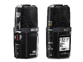 Zoom H2n Recorder front and back