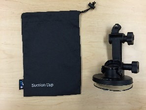 7 GoPro Suction Cup pieces assembled